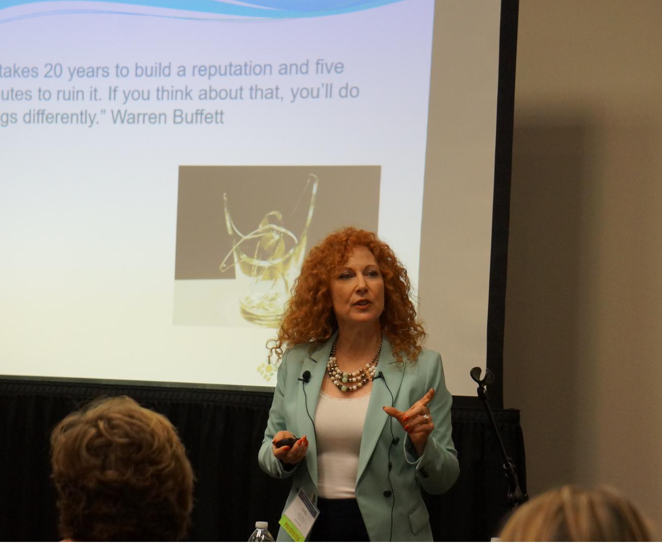 Linda Lenrow Lopez teaching